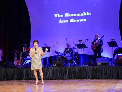 20th Annual Gala - The Honorable Ann Brown