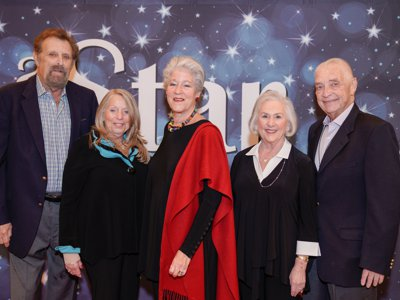 20th Annual Gala - Stanley and Dina Tashoff, Penny Bank, Geri Elias and Art Hartstein