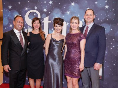 20th Annual Gala - Will Anchetta and Guest, April Campbell, Chris and Nicole Edelstein