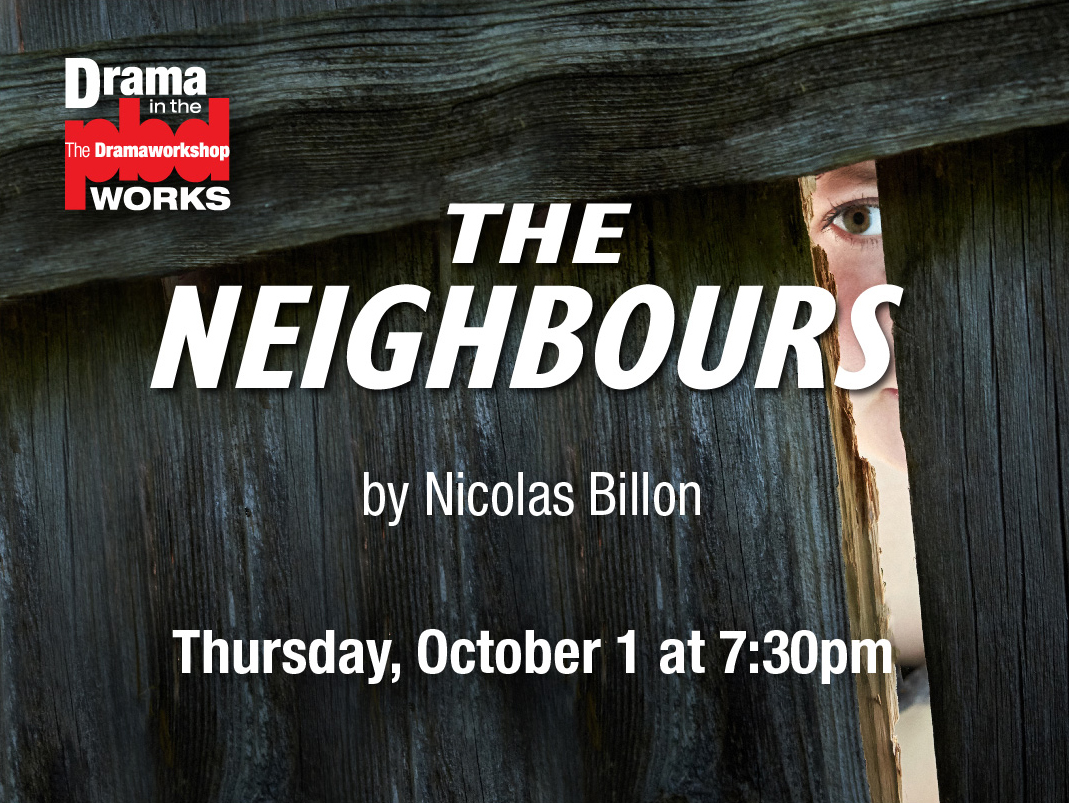 Zoom Reading: The Neighbours by Nicolas Billon