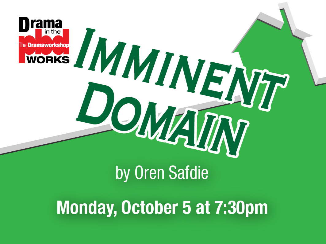 Zoom Reading: Imminent Domain by Oren Safdie