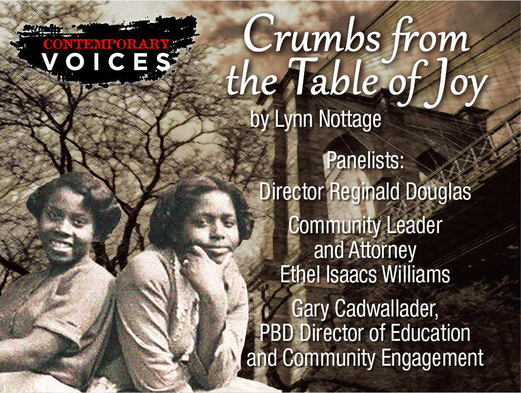 Discussion: Crumbs From the Table of Joy by Lynn Nottage