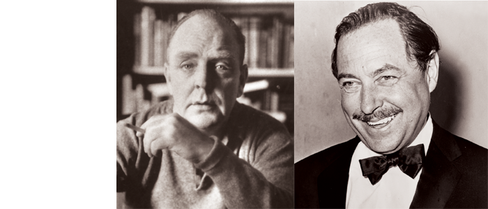 PRESENTATION: Tennessee Williams & William Inge, Playwrights