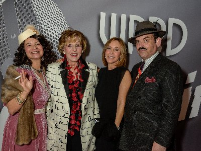 Fran Weissler and Nancy Goodes with Sue Ellen Beryl and William Hayes