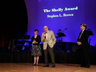 20th Annual Gala - The Shelly Award - Stephen L. Brown